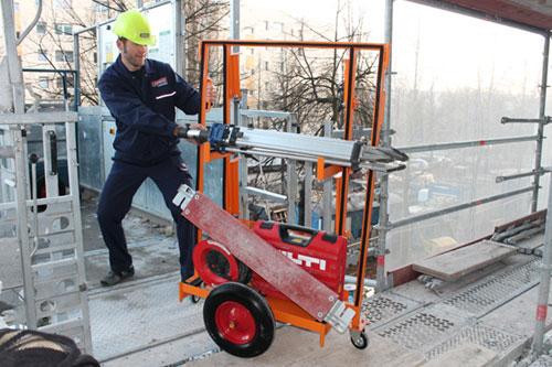 Transportwagen Baustelle Berlin
